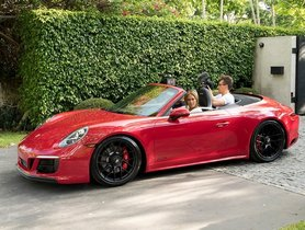 Jennifer Lopez Gifted A Porsche 911 GTS Cabriolet For Her 50th Birthday By Her Fiance