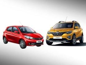 Renault Triber vs Tata Tiago Comparison: Prices, Specifications, Interior, Dimensions