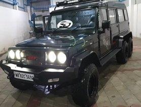 Modified Mahindra Bolero 6-Wheel-Drive Gets Luxury Passenger Lounge