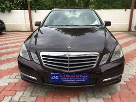 2013 Mercedes Benz E Class AT for sale at low price