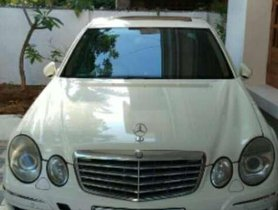 2009 Mercedes Benz E Class AT for sale at low price