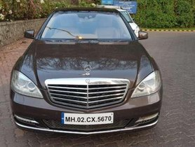 2012 Mercedes Benz S Class AT for sale