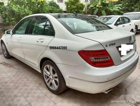2011 Mercedes Benz C-Class AT for sale at low price