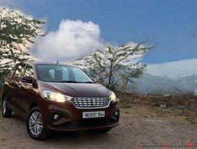 Maruti Ertiga Petrol BSVI Model Launched, Priced at Rs 7.54 lakh