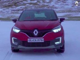 New Renault Captur TVC Released, Filmed In Pangong Tso