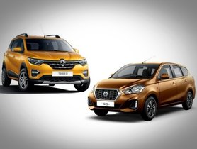 Renault Triber Vs Datsun GO+ Comparison of Prices, Specifications, Interior, Dimensions