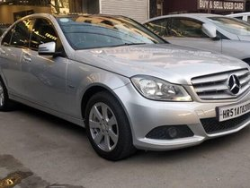 Used Mercedes Benz C-Class  220 CDI AT car at low price
