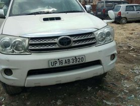 Used Toyota Fortuner 4x4 MT 2010 for sale