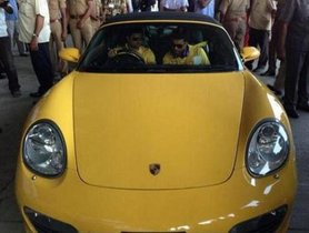 Porsche Cars Of Indian Celebrities - From Amitabh Bachchan to Akshay Kumar