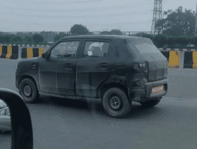 Maruti S-Presso Spied Ahead Of Its Launch