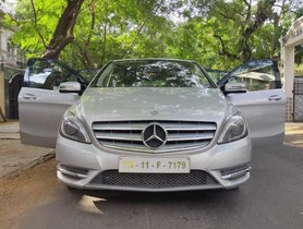 2013 Mercedes Benz B Class  B180 AT for sale at low price