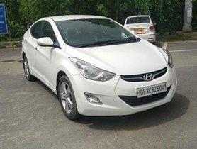 Used Hyundai Elantra SX MT car at low price