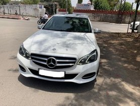 Used 2013 Mercedes Benz E-Class E250 CDI Elegance AT 2009-2013 for sale