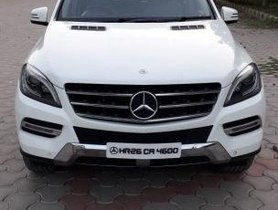Used Mercedes Benz M Class ML 250 CDI AT car at low price