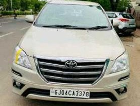 2014 Toyota Innova  2.5 VX 8 STR MT for sale at low price
