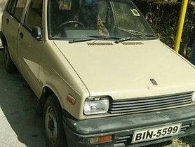 1998 Maruti Suzuki 800 MT for sale at low price
