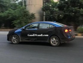 2020 Hyundai Elantra Spotted Testing In India, Launch To Take Place This Festive Season