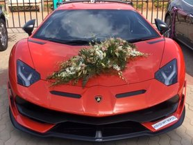 Five Most Expensive Wedding Cars In India – From Dodge Challenger To Lamborghini Aventador SVJ
