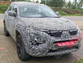Tata Harrier Automatic BSVI Diesel 170 PS Spotted Testing
