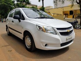 Chevrolet Sail Hatchback Petrol MT 2013 for sale