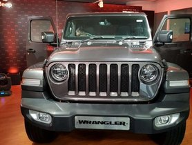 Jeep Wrangler JT Launched in India, Priced At Rs 63.94 Lakh in India