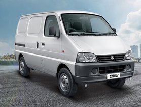 Maruti Eeco Cargo To Now Retail At Commercial Showrooms