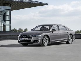 Audi A8L India Launch Confirmed For End Of 2019