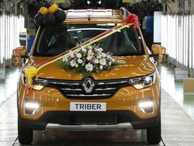 Renault Triber Production Commences, Launch Scheduled For 28th August