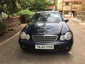 Mercedes-Benz C-Class 180 Elegance MT, 2002, Petrol AT for sale