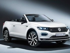 Volkswagen T-Roc Cabriolet is the T-ROC SUV with a Soft-top