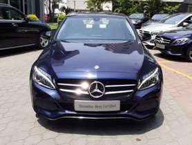 Used Mercedes Benz C-Class C 220d Avantgarde Edition C AT 2017 for sale