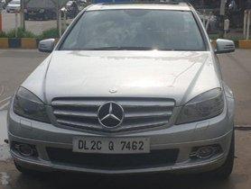 2011 Mercedes Benz C-Class C 200 Kompressor Elegance AT for sale