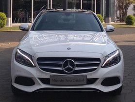 Used Mercedes Benz C-Class C 220CDIBE Avantgarde Command AT car at low price