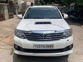 2014 Toyota Fortuner 4x4 MT for sale