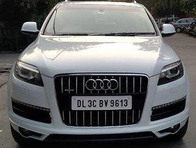 Used Audi Q7  3.0 TDI Quattro Premium Plus AT car at low price
