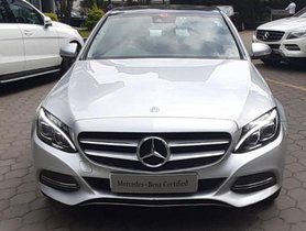 Mercedes Benz C-Class C 220CDIBE Avantgarde Command AT 2015 for sale