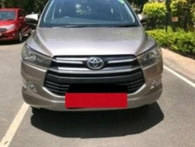 Toyota Innova Crysta 2.4 GX MT 2017 for sale