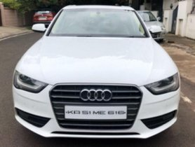 Used Audi A4 New 2.0 TDI Multitronic AT car at low price