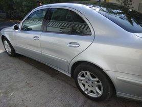 Mercedes Benz E-Class 1993-2009 200 Kompressor Elegance AT 2008 for sale