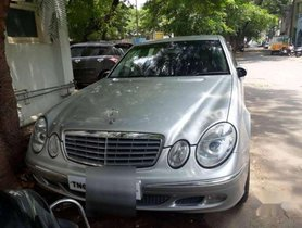Used 2004 Mercedes Benz E Class AT for sale