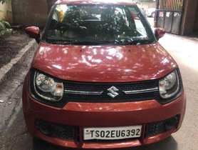 Used 2017 Maruti Suzuki Ignis 1.2 Delta MT for sale