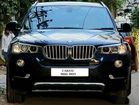 BMW X3 xDrive20d, 2017, Diesel AT for sale