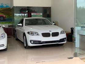 Used BMW 5 Series 520d Luxury Line AT for sale