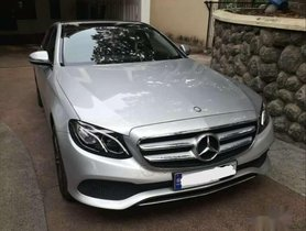 2017 Mercedes Benz E Class AT for sale