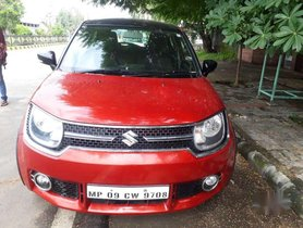 2017 Maruti Suzuki Ignis 1.2 AMT Zeta MT for sale