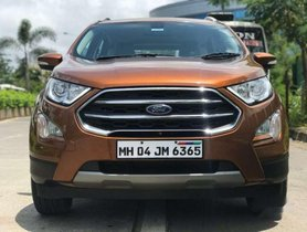 Used Ford EcoSport AT car at low price