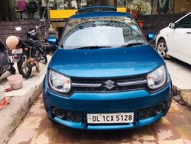 Used Maruti Suzuki Ignis 1.2 Delta MT 2017 for sale