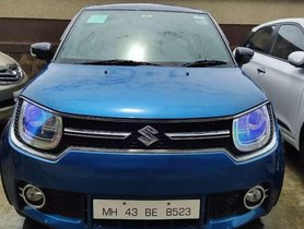 Used Maruti Suzuki Ignis MT car at low price
