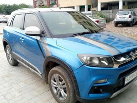 Used Maruti Suzuki Vitara Brezza ZDi AT car at low price