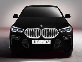 2020 BMW X6 Will Appear In Frankfurt With Wild Vantablack Paint Scheme